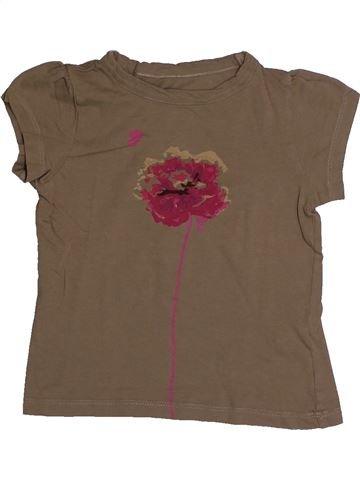 Camiseta de manga corta niña CFK marrón 3 meses verano #1559719_1