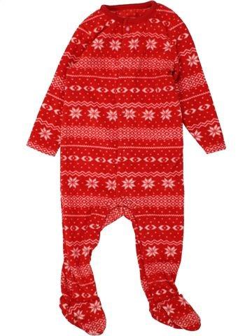Robe de chambre fille F&F rouge 9 mois hiver #1559855_1