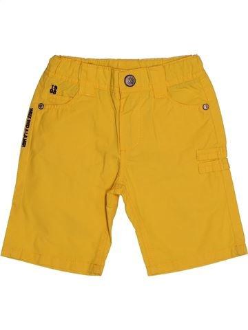 Short-Bermudas niño WEEK END A LA MER amarillo 3 años verano #1560038_1