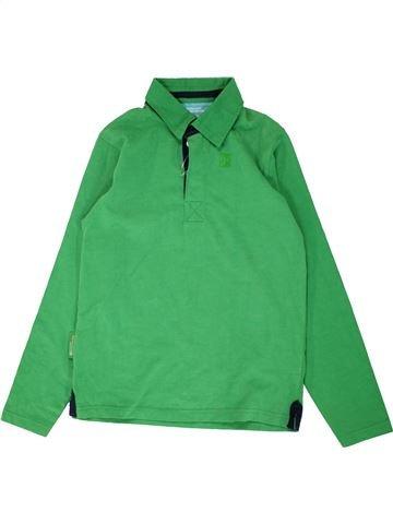 Polo manches longues garçon MOUNTAIN WAREHOUSE vert 10 ans hiver #1560555_1