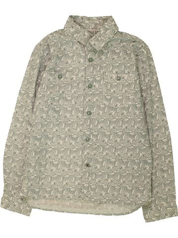 Chemise manches longues garçon JOHN LEWIS beige 9 ans hiver #1560621_1
