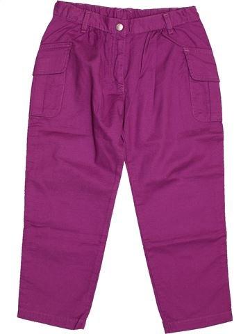 Pantalon fille PETIT BATEAU violet 6 ans été #1560839_1