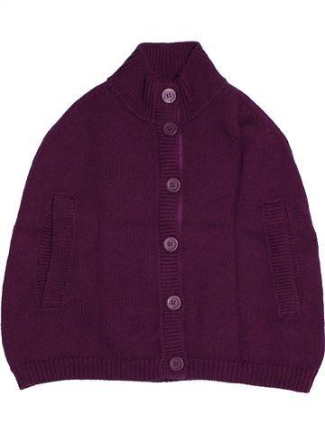Gilet fille PETIT BATEAU violet 6 ans hiver #1560844_1