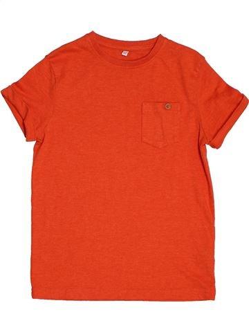 T-shirt manches courtes garçon MARKS & SPENCER rouge 8 ans été #1562018_1