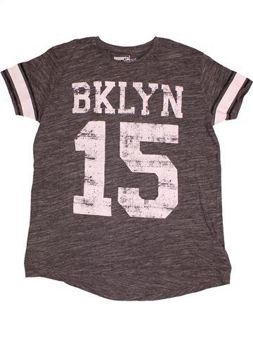 T-shirt manches courtes fille PEPPERTS gris 16 ans été #1562093_1