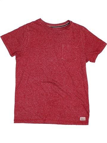 T-shirt manches courtes garçon F&F rouge 10 ans été #1562145_1