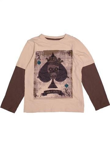 T-shirt manches longues garçon M&CO rose 9 ans hiver #1562170_1