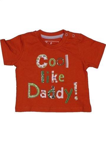 T-shirt manches courtes garçon TU rouge 3 mois été #1562282_1