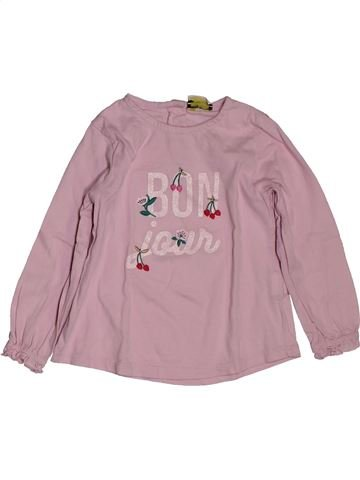 T-shirt manches longues fille TAPE À L'OEIL beige 2 ans hiver #1563298_1