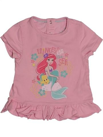 T-shirt manches courtes fille ORCHESTRA rose 18 mois été #1563431_1
