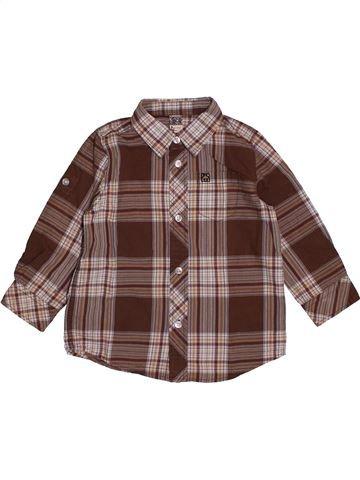 Chemise manches longues garçon TAPE À L'OEIL violet 3 ans hiver #1563613_1