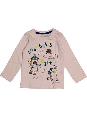 Camiseta de manga larga niño IN EXTENSO rosa 2 años invierno #1563689_1