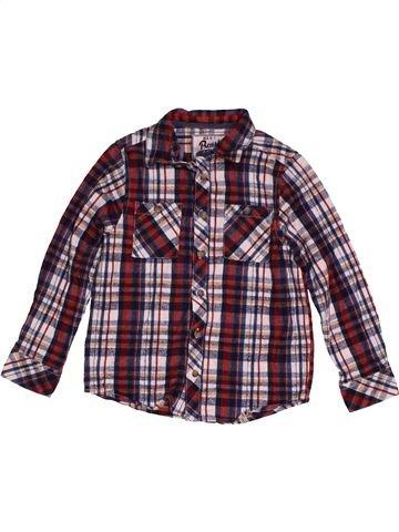 Camisa de manga larga niño BOYS marrón 7 años invierno #1565527_1