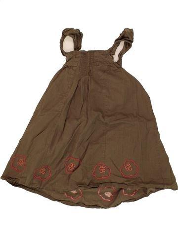 Robe fille OKAIDI marron 2 ans été  1574619 1 e3196c7d008