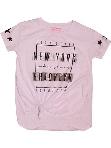5c94535e0539e T-shirt manches courtes fille PRIMARK blanc 13 ans été  1695988 1