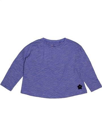 6f707aedd Camiseta de manga larga niña NEXT púrpura 4 años invierno  1696347 1