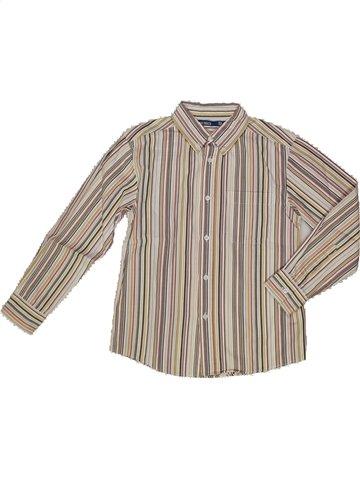 Camisa de manga larga niño OKAIDI gris 8 años invierno #820270_1