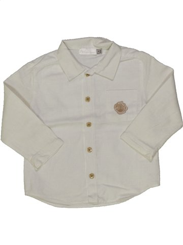 Camisa de manga larga niño CLAYEUX gris 2 años invierno #839391_1