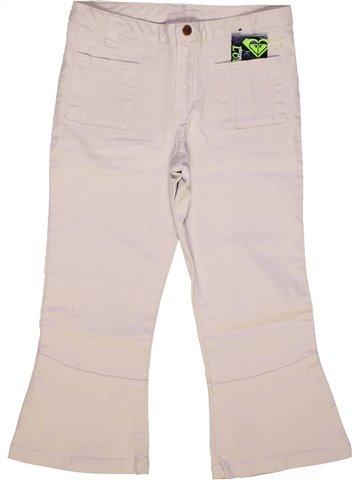 Pantalón corto niña ROXY blanco 14 años verano #894360_1