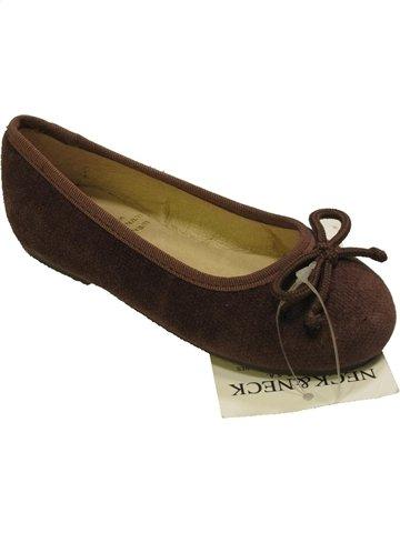 Bailarinas niña NECK & NECK marrón 24 verano #903836_1