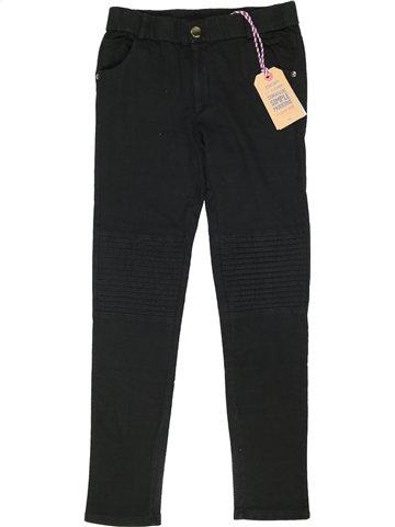 Pantalon fille DDP noir 12 ans hiver #941739_1