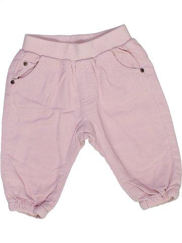 Pantalon fille ZARA rose 6 mois hiver #973057_1