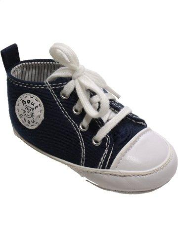 Zapatos con cordones niño BOUT'CHOU azul oscuro 21 verano #994303_1